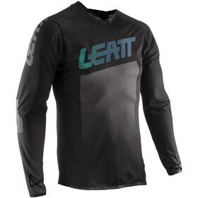 Leatt DBX 4.0 Ultraweld Koszulka rowerowa z zamkiem błyskawicznym Mężczyźni, black